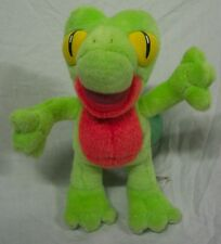"Hasbro 2004 Nintendo Pokemon TREECKO 10"" Plush STUFFED ANIMAL Toy"