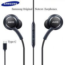 Samsung Type-c Earphone USB AKG Earbuds Wired In-ear HIFI Galaxy Note 10