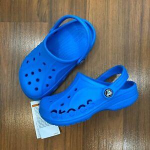 Crocs Baya Clog K Slip-On SHOES Youth Big Boy's & Girl's Size 1, 3, 4 NEW