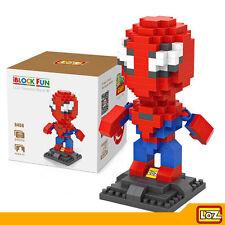 LOZ - Juguete de Construcción Bloques Diamante - Figura Spiderman 240 pzs L-9456