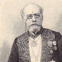 Portrait Alfred de Foville Économie Économiste Statistique Statisticien