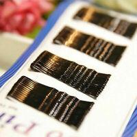56× Women invisible Hair Clips Flat.Bobby Pins Grip Salon Barrette Hairpin* U9P5