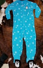 Nick & Nora XL One Piece Footed Pajamas Penguin Womens Fleece PJs Sleep Lounge
