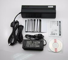 New Msr606 Credit Card Reader Write Encoder Magnetic Stripe Swipe 3Tracks Msr206