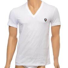 Dolce&Gabbana Short Sleeve Basic Loose Fit T-Shirts for Men