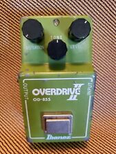 Rare NEC4558 '80 Vintage OD-855 Overdrive II IBANEZ Guitar Pedal TS-808 Chip