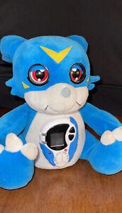 Digimon Digital Interactive Veemon Alarm Clock Bandai 2000 Japanese Anime Tested