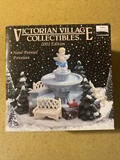 Victorian Village Collectibles Old Towne Fountain 2001 Edition