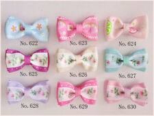 """3/"""" Bow 2 Tone Double ABC Hairbow Clip 50 BLESSING Good Girl Boutique 2.75/"""""""