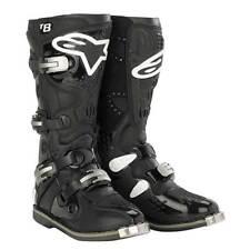 Alpinestars Tech 8 Offroad MX Dirt Boots All Black Size 8 US
