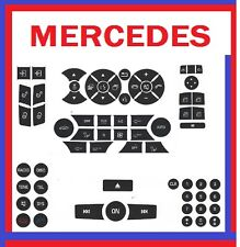 2009 Mercedes C300 Button Premium Repair Package-Steering AC Locks Window Decals