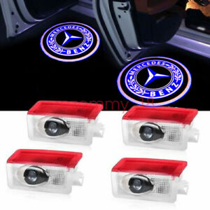 LED Door Courtesy Light Ghost Shadow Laser Projector For Mercedes-Benz 4pcs