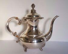 Große Eugen Ferner 1967 EPNS Cafe Tee Kaffee Kanne Tea silver Plated Ø 29 cm Big