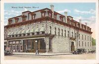 Baraboo, WISCONSIN - Warren Hotel - ARCHITECTURE - old cars