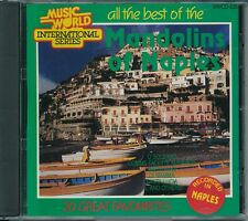 All the Best of the Mandolins of Naples 20 Great Favourites Various Artists