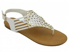 WOMENS FASHION COLOR ROMAN GLADIATOR OPEN TOES STRAPPY SANDALS 6  9 10