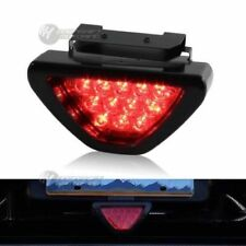 SPORTY F1 Style Triangle 12 LED Rear Stop Tail 3rd Brake Light - RED Universal 2