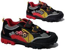 Schuhe für Jungen aus Kunstleder mit Klettverschluss