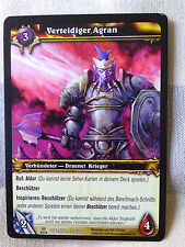 Verteidiger Agran World of Warcraft Tradingcard Blizzard Entertainment TCG WOW