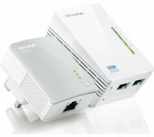 TP-LINK WPA4220 WiFi Powerline Adapter Kit - AV600 Twin Pack - Currys
