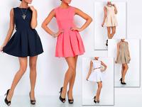 Mini Dress Sleeveless Dress Fashion unfolded Size S M L XL
