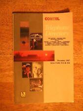 1987 CANTON MO MISSOURI DIRECTORY PHONE BOOK TELEPHONE GENEALOGY SHELBINA PARIS