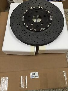 2014-15 Chevy Camaro Z28 Front Carbon Ceramic Rotors GM OEM 22958646 177-1164