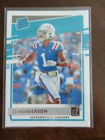 2020 Donruss Football Card Rated Rookie CJ Henderson Jaquars Cards NFL