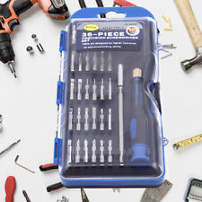 36 Pcs Precision Screwdriver Tools Set Laptop Phone Repair Garage Workshop Tool
