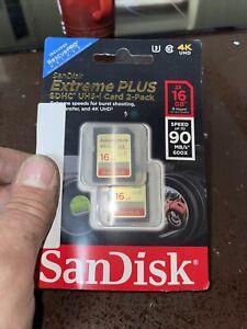 San Disc Extreme Plus 16gb