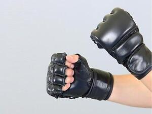 Freefight, MMA, Grappling, SV, BJJ Handschuhe Phoenix. Echtes Leder, Gr. M-XL.