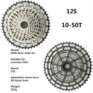 SROAD 12 Speed MTB Bike Cassette 10-50T SRAM XD Hub Flywheel COMPATIBLE XG-1299