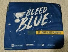 ST LOUIS BLUES WESTERN CONFERENCE PLAYOFF RALLY TOWEL SGA 05-21-19
