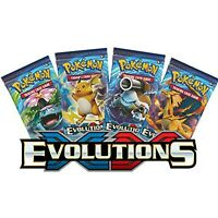 XY Evolutions Booster Pack Sealed Official Pokemon Cards * New *
