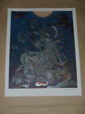 James Jean Chang'e art print poster Adrift Change Fables Murakami Shape Water