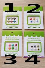 1 sheet Iphone Apple Button Stickers 4 5 6 plus  Itouch Ipad tablet tab sticker