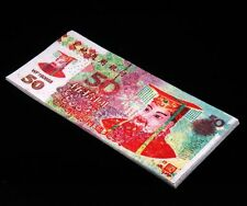 Hell Bank Note Chinese FENG SHUI Money 10 pc China Ghost Currency 50s #HBN5