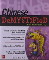 Chinese Demystified: A Self-teaching Guide by Ross, Claudia, NEW Book, (Paperbac