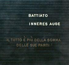 FRANCO BATTIATO - INNERES AUGE - CD NUOVO SIGILLATO DIGIPACK 2009