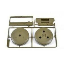 Tamiya Wild Willy 2000 J parts TAM0005750 spare tire, window and grill