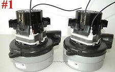 Carpet Cleaning - 2-Stage Extractor Vacuum Motors CPR Mytee EDIC Sandia