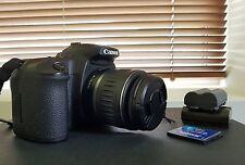 Canon EOS 20D 8.2MP Fotocamera Reflex Digitale-Nero (Kit con-S 18-55mm EF Lente)