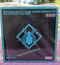 Mezco Toyz One:12 Far From Home Spiderman Stealth Suit Action Figure Previews PX