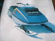 New listing 1973 Vintage AUTO SKI Snowmobile Brochure
