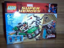 Lego Set 76004 - Super Heroes - Spider-Man Spider-Cycle Chase / Marvel 2013 Neuf
