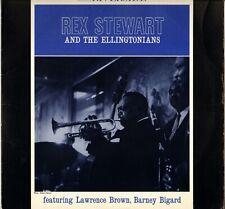 "REX STEWART ""AND THE ELLINGTONIANS"" BIG BAND JAZZ 80'S LP RIVERSIDE OJC-1710"