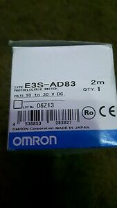 OMRON E3S-AD83 PHOTOSWITCH NEW 180 day warranty