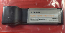 Belkin FireWire and USB 2.0 ExpressCard