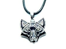 Wolf Pendant with Celtic Knot Design, Symbolic Nordic Warrior. Fast Shipping NEW