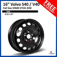 "Volvo S40 / V40 2004-2017 16"" FULL SIZE STEEL SPARE WHEEL REPLACEMENT WHEEL RIM"